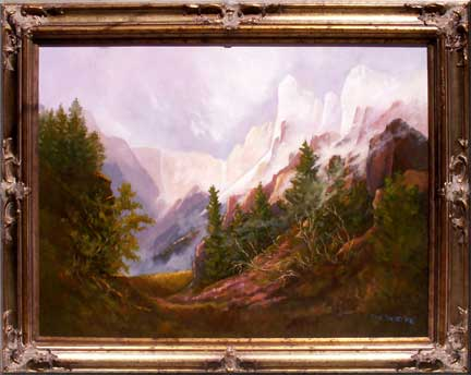 Photo of Majesty Oil Painting