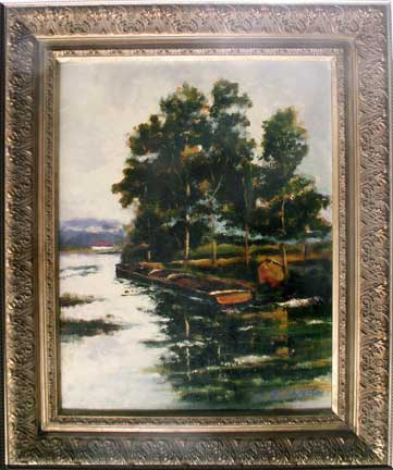 Photo of Quiet Waters Painting