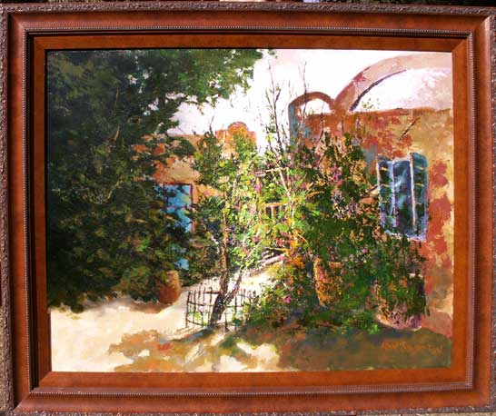 Photo of Courtyard Painting