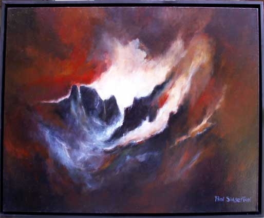 The Tempest Oil Painting Photo