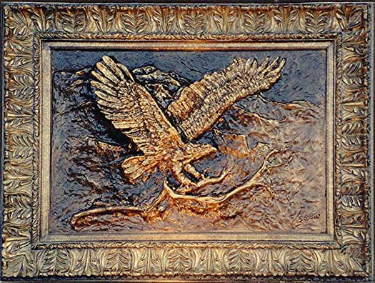 Photo of Soaring Eagle Wall Sculpture